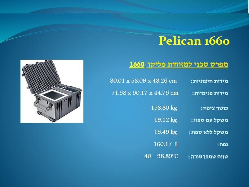 פליקן 1660 Pelican