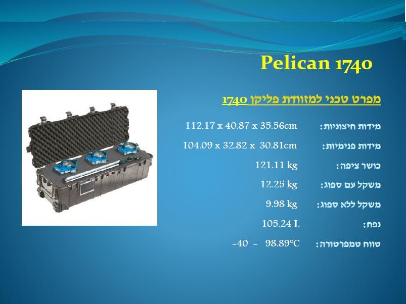 פליקן 1740 Pelican