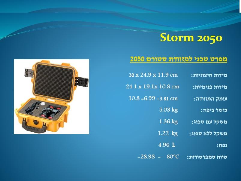 סטורם 2050 Storm