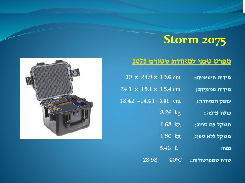 סטורם 2075 Storm