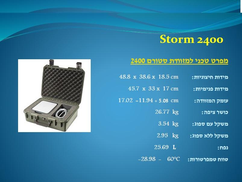 סטורם 2400 Storm
