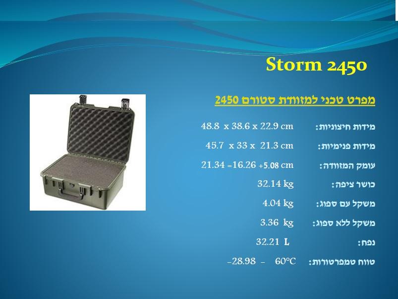 סטורם 2450 Storm