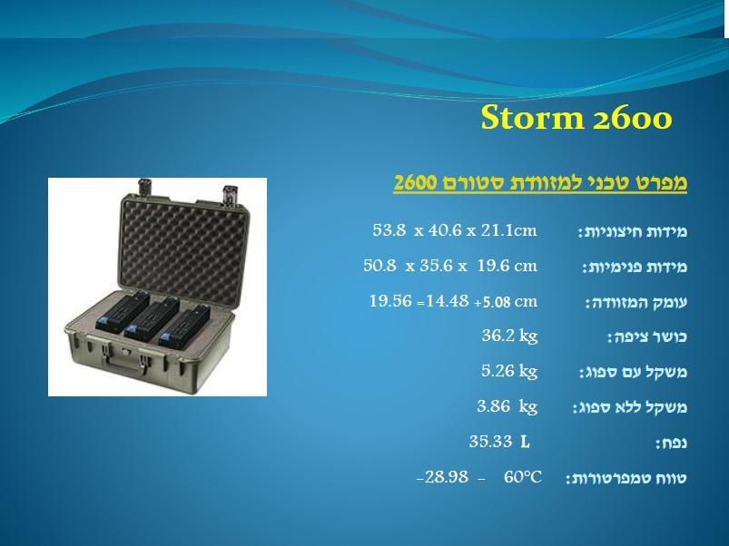 סטורם 2600 Storm