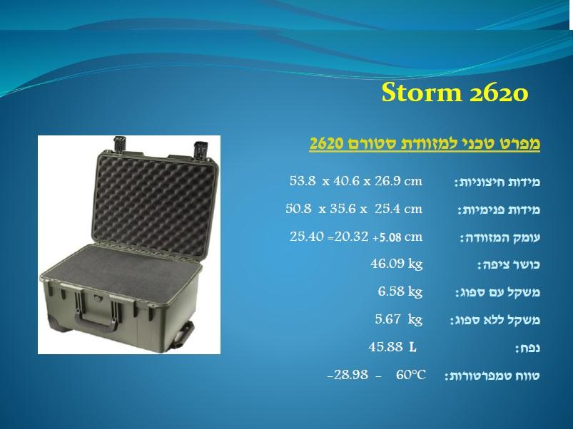 סטורם 2620 Storm