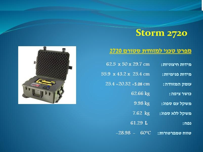 סטורם 2720 Storm