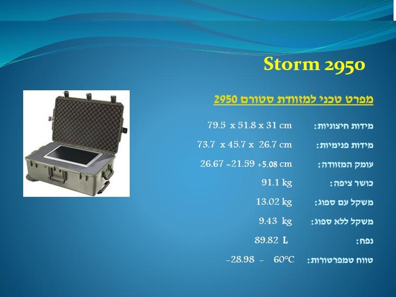 סטורם 2950 Storm