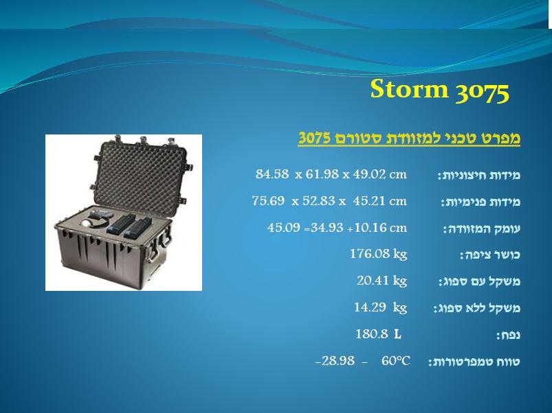 סטורם 3075 Storm