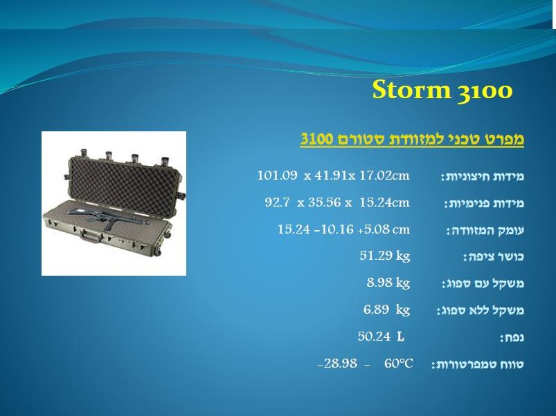 סטורם 3100 Storm
