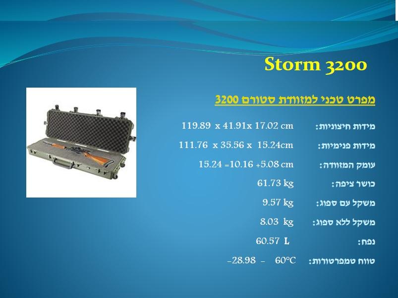 סטורם 3200 Storm
